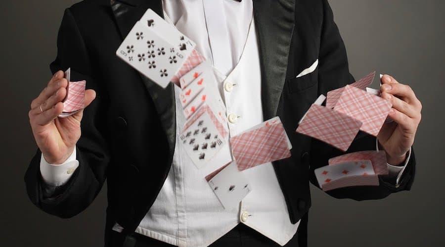 cartes magicien